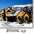 Tahoe Donner Homes $900,000 and up