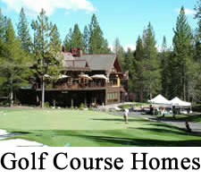 Tahoe Donner Golf Course Homes