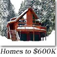 Tahoe Donner Homes to $600,000