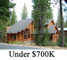 Tahoe Donner Homes under $700,000
